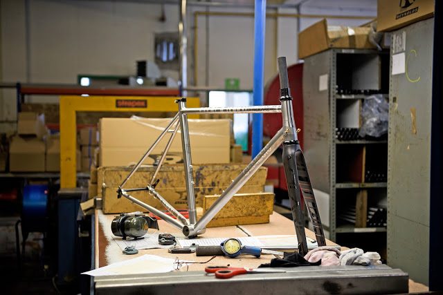 New Volare 931 Disc Road Frame from Geneses Bikes