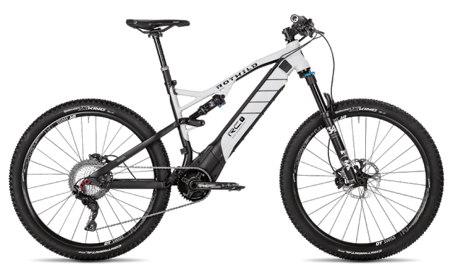 Rotwild launched the New 2018 R.C+ eMTB Bike