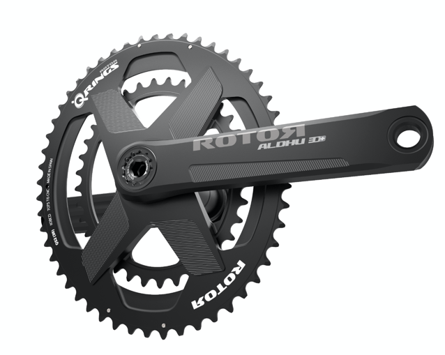 Rotor introduced the New ALDHU 3D+ Crankset