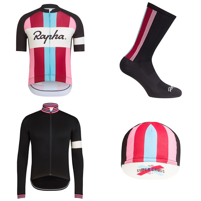 Rapha launched their New Cross Collection