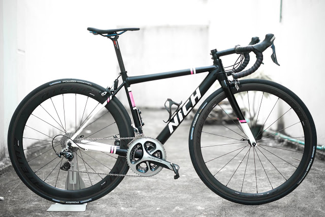 Nich Cycling launched the New Kem 2018 Road Bike Frame