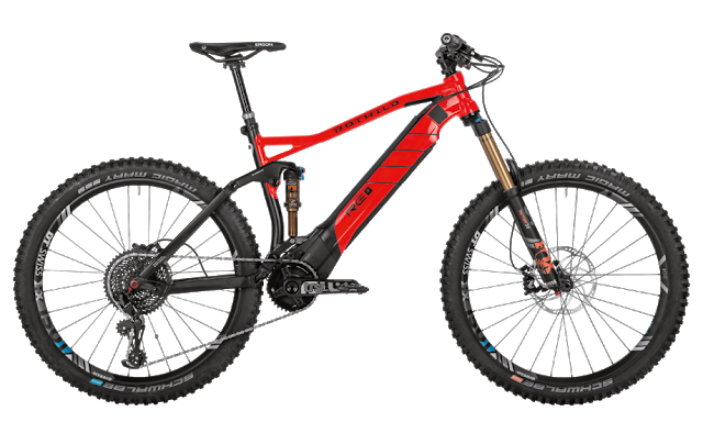 The New R.E+ eMTB Bike from Rotwild