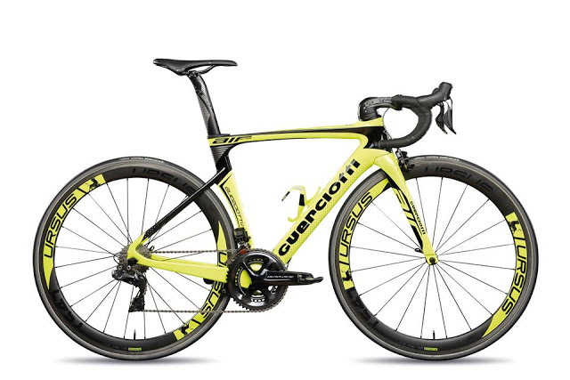 The New Guerciotti Eureka Air Road Bike was revealed