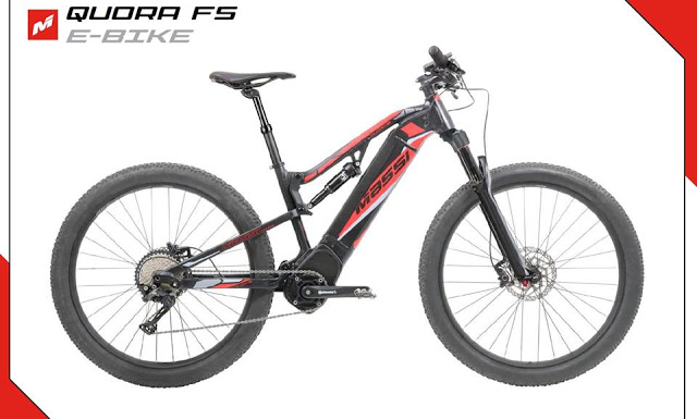 Massi unveils the New Quora FS eMTB Bike