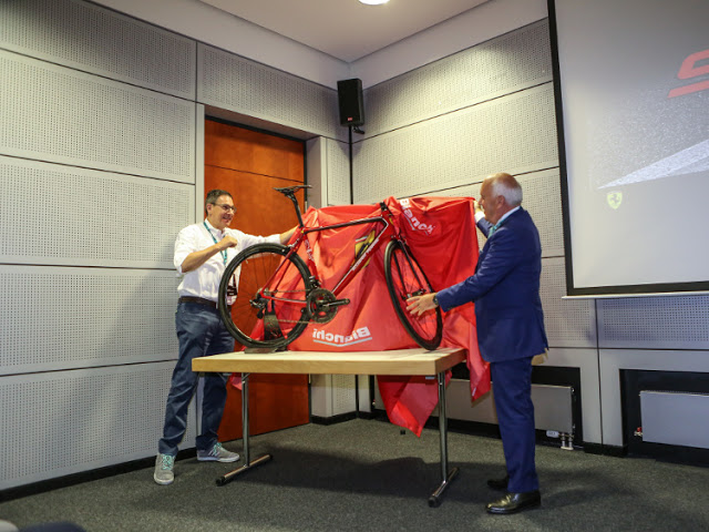 """Bianchi for Scuderia Ferrari"" project introduced at Eurobike"