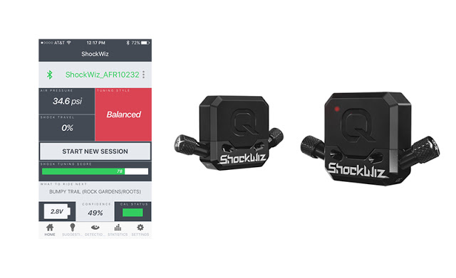 Quarq Free ShockWiz App received New Features