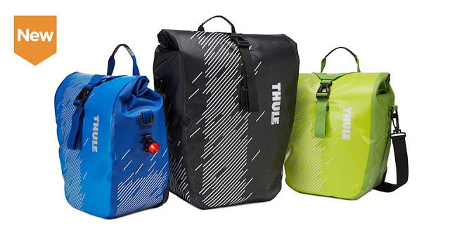 New Shield Waterproof Panniers from Thule