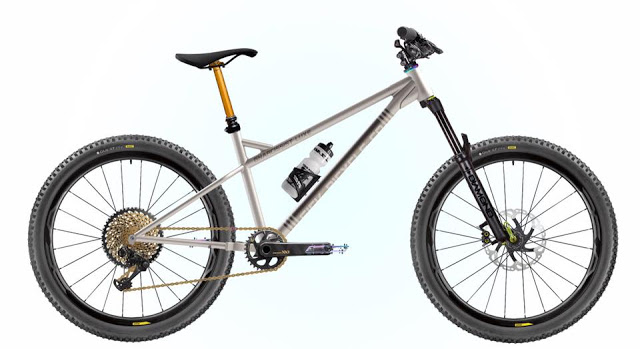 New Gnarcissist Luxe Hardtail MTB Titanium Frame from Sick Bicycle Co.
