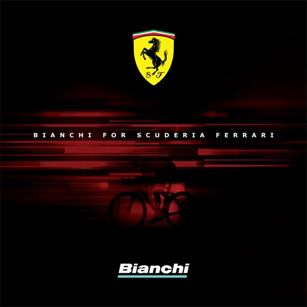 Bianchi and Ferrari join forces for a Range of Bicycles