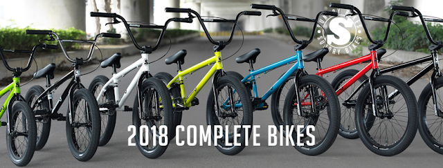 New 2018 Complete BMX Bikes from Sunday Bikes