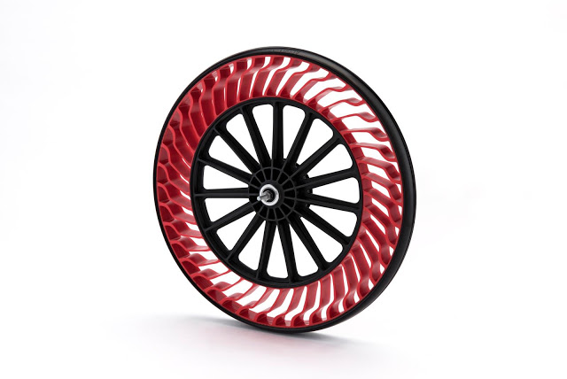 "Bridgestone Develops Next-Generation Bicycle Tire Designed Using ""Air Free Concept"""