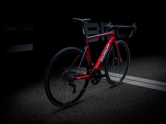 BMC revealed their New Teammachine SLR01 Disc Road Bike