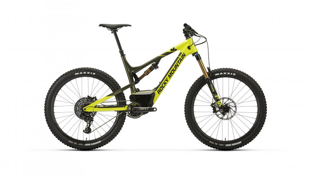 Introducing the New Altitude Powerplay e-MTB Bike from Rocky Mountain