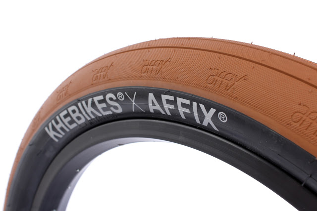KHE Bikes launched their New KHE x AFFIX BMX Tires