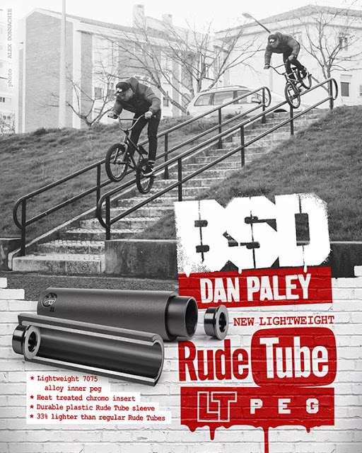 The New Rube Tube LT Pegs from BSD
