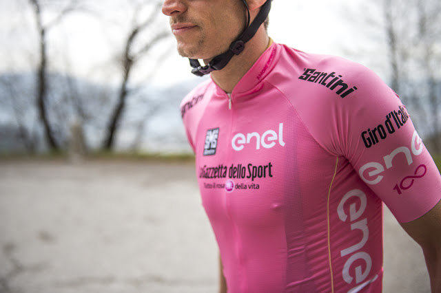 Santini supplied 600 Jerseys for the 2017 Edition of Giro d'Italia