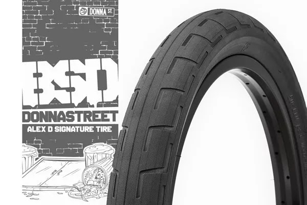 The New Donnastreet BMX Tire from BSD