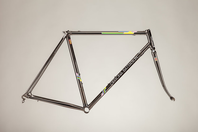 Officina Battaglin launched the Limited Edition 'Stephen Roche' Steel Frame