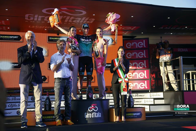 Sam Bennett wins final stage of the Giro d'Italia and completes a successful Grand Tour for BORA-hansgrohe