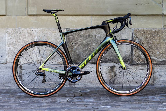 Mat Hayman's New Custom Scott Foil for Paris-Roubaix