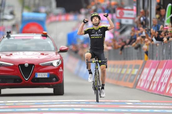 Birthday win for Nieve gives Mitchelton-SCOTT fifth stage win at Giro d'Italia