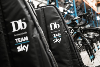 DoucheBags partners with Team Sky and launches the Tour and Trail Bike Bags