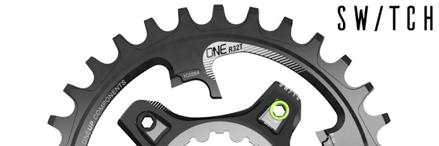 Switch – The New Quick-Change Direct Mount Chainring System from OneUp Components