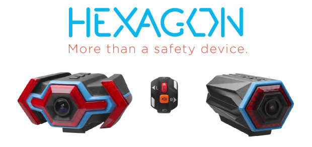 Smart Bike Systems launched the HEXAGON Rear Camera with Stop and Turn Lights