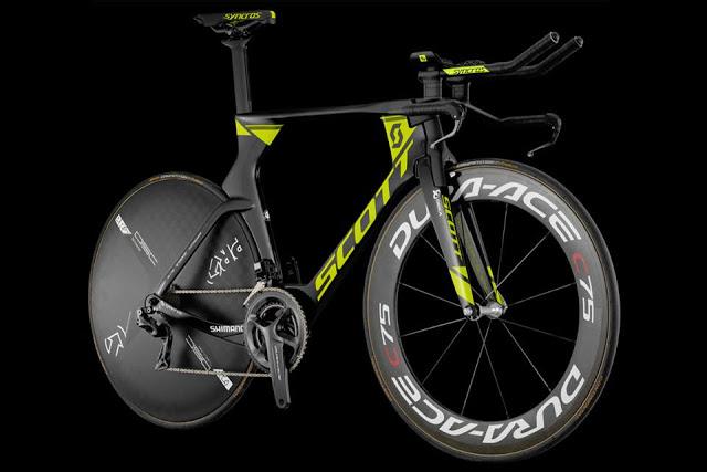Meet the Orica-Scott's New Plasma RC Time Trial Bike