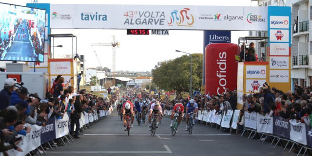 André Greipel from Lotto Soudal Team won the fourth stage of Volta ao Algarve 2017