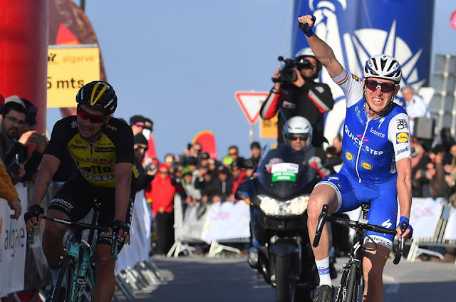 Dan Martin from Quick-Step Floors Team won the second stage of Volta ao Algarve 2017