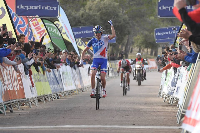 Thibaut Pinot from FDJ Team won the second stage of Ruta del Sol, Vuelta Ciclista a Andalucía 2017