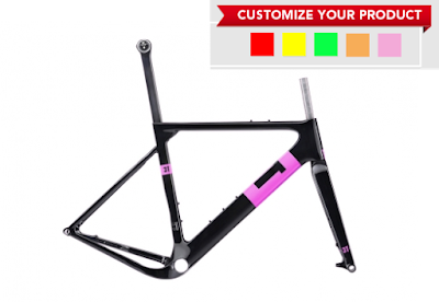 New colors for the 3T Cycling Exploro Bike Frames