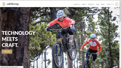Alchemy Bicycle Company launched their new website