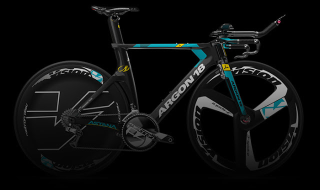ARGON 18 Introduces 2017 Astana Pro Team's Bikes