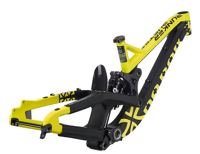 Introducing the New Full Carbon Bunker Buster DH Frame from Dabomb ...