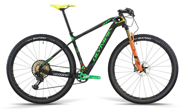 Olympia launched the F1 Limited Edition 29er Bike