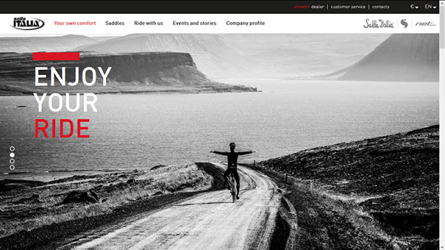 Selle Italia launched their new Website