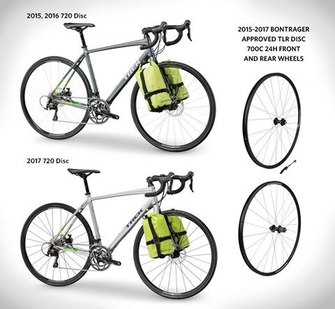 Trek recalls 720 Disc Bicycles and TLR Disc 700 C 24H Bontrager Wheels