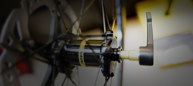 Mavic Speed Release: a faster, lighter and safer through axle system