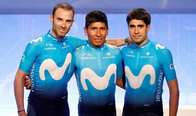 Movistar Team unveils Tour de France roster ee8b03e89