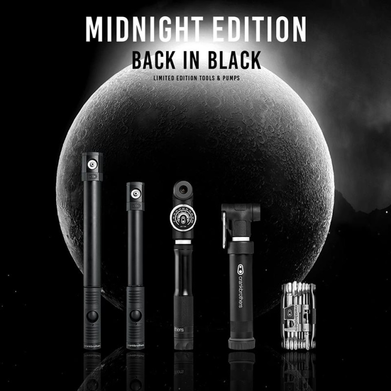 Back in Black – Introducing the CrankBrothers Midnight Collection