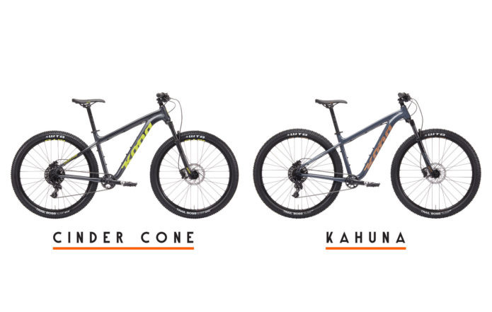 The 2019 Cinder Cone and Kahuna are here