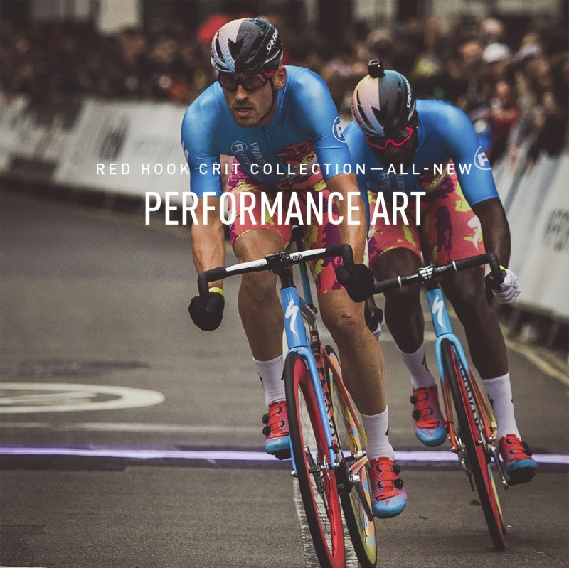 When contemporary art and cycling's most exciting form of