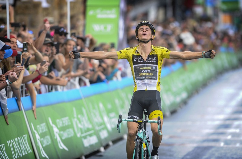 Kuss wins Tour of Utah with third stage victory