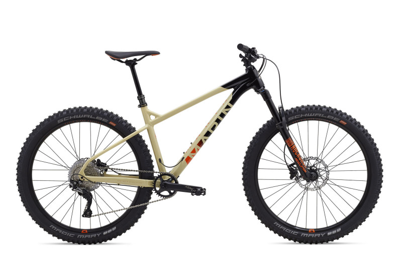 The New Hardtail Marin San Quentin developed with Matt Jones