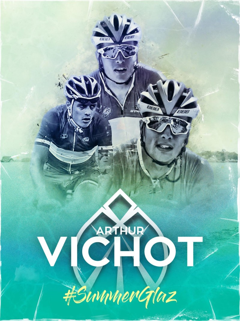Arthur Vichot has agreed a 2-year deal with the Vital Concept Cycling Club