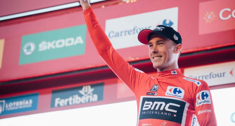 Dennis Powers into the First Red Jersey After Time Trial Victory in Malaga