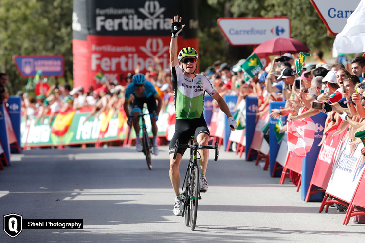 La Vuelta a Espana #4: Ben the King of the day for Dimension Data