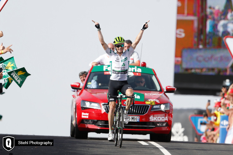 La Vuelta a Espana #9: King of the day, again